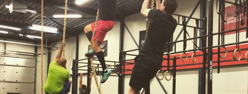 Having fun with some Rope Climbs!